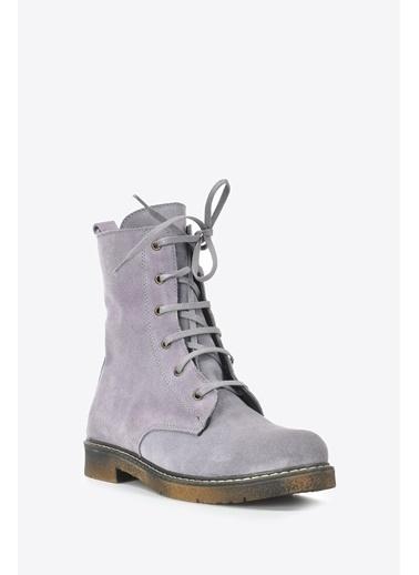 Vizon Ayakkabı Bot Lila
